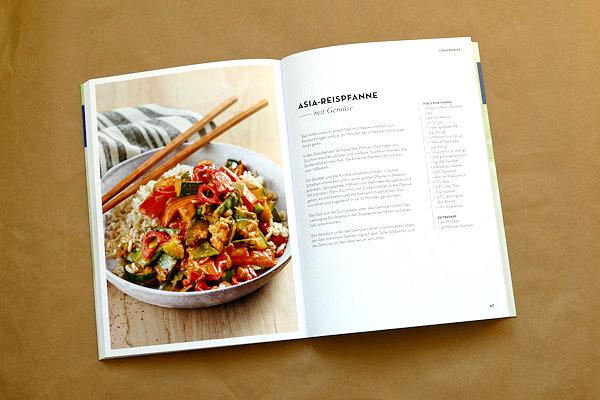 Buch Aromaküche Rezeptseite