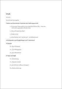 Inhaltsverzeichnis Basenkur eBook