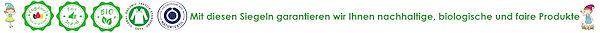 Naturzwerge Siegel für ökologische faire Produkte
