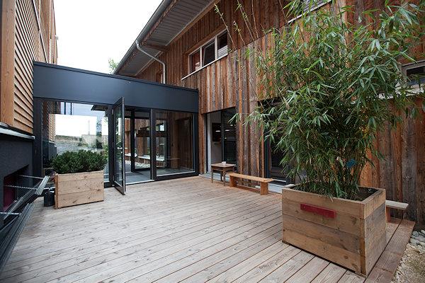 Ökologisch gebaut Sonett Betriebsstätte