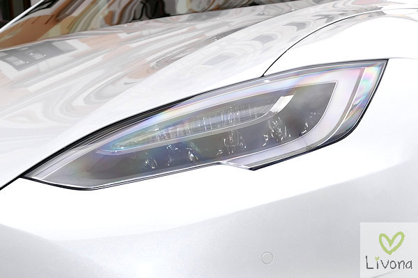 Tesla S Lampendesign