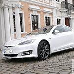 Tesla S weiss