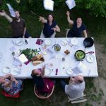 Livona-Hausparty aufgegessen