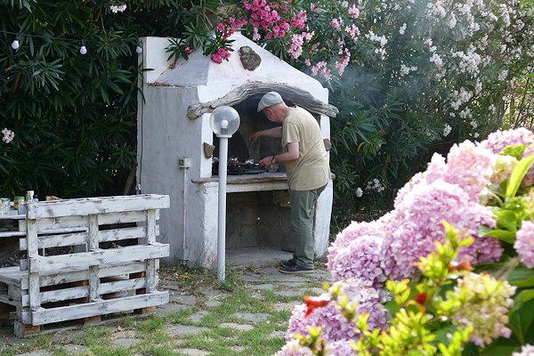 Grillen auf Sardinien