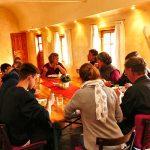 Mittagessen in Gemeinschaft