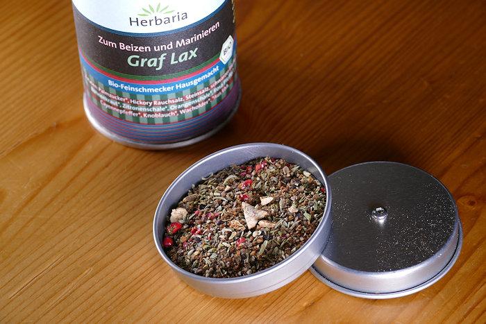 Herbaria Graf Lax Dose offen