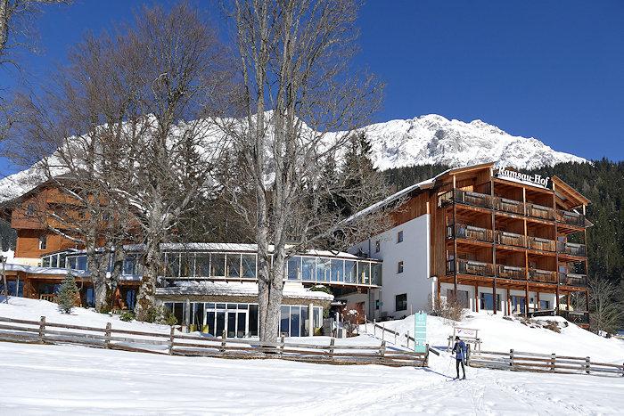 Bio-Hotel Ramsau-Hof im Schnee