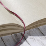 Graspapier Notizbuch Detail Seiten