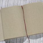 Graspapier Notizbuch Innenseiten