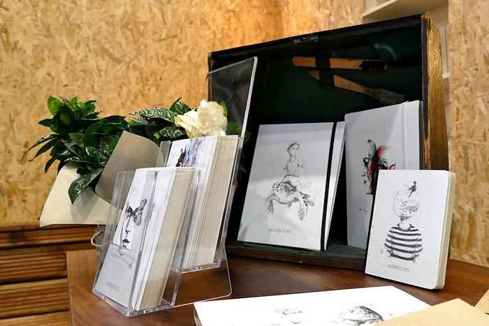 Matabooks Postkarten, Samenbuch, Notizbuch