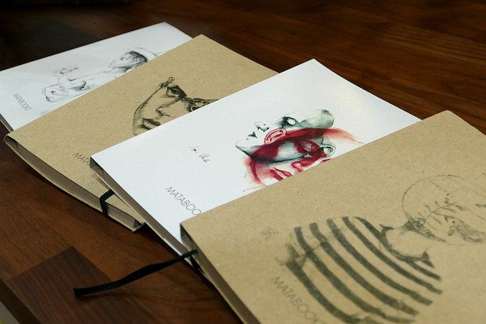 Notizbücher aus Graspapier