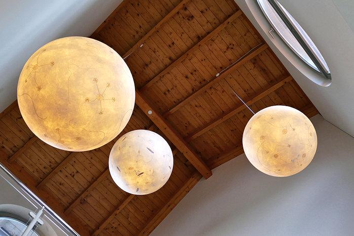 einfach schön selbst gestaltete Lampen