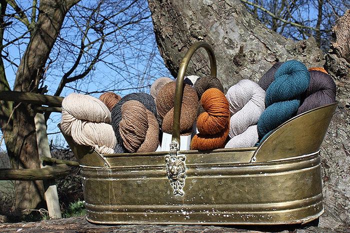 Wollsortiment in GOTS-Qualität