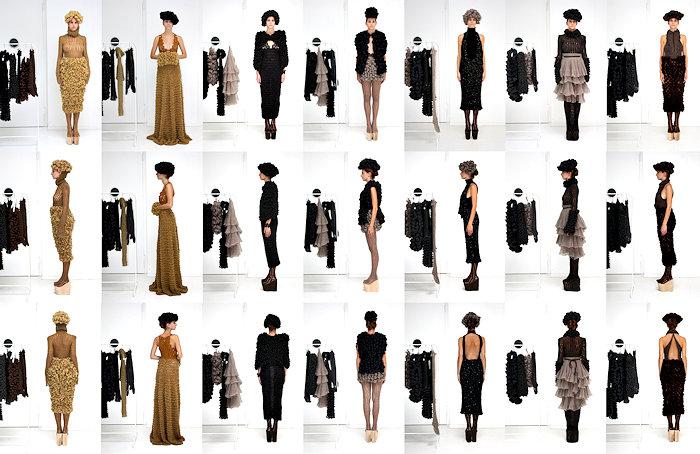 Überblick über die Couturekollektion
