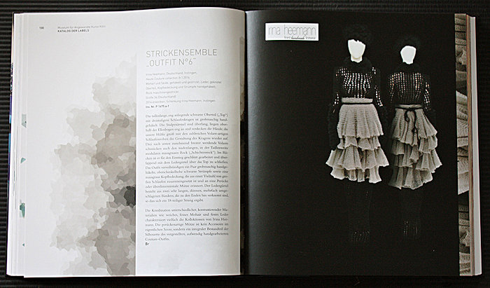 """Katalog Museums für angewandte Kunst Köln, Modeausstellung """"LOOK! Modedesigner von A bis Z"""""""