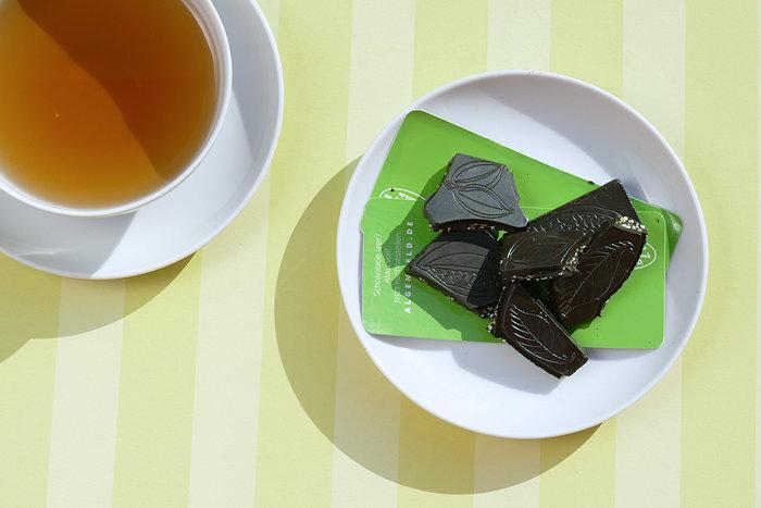 Bio-Algenschokolade als Snack