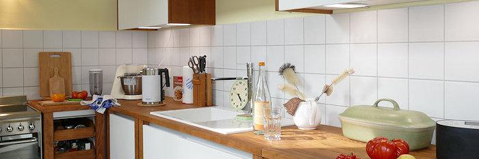 Trinkwasser Test in neuer Küche
