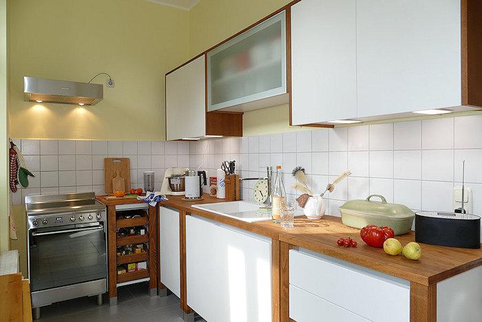 Trinkwasser-Test in neuer Küche
