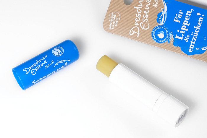 Dresdner Essenz Naturell Blau Lippenpflegestift